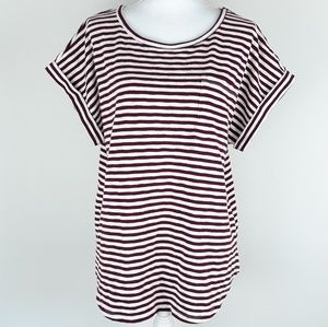 A New Day top plus Size XXL striped basic